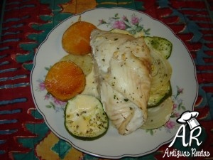 Arrolladitos de Pescado con Verduras Light