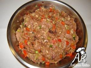 Pan de carne-Preparacion