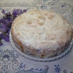 Torta de manzana deliciosa