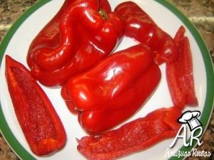receta de pimientos en conserva