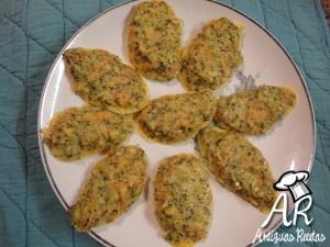 Buñuelos de brocolis